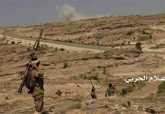 نیروهای یمنی یک پهپاد جاسوسی مزدوران سعودی را سرنگون کردند