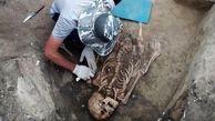 باستان شناسان یک زن باستانی را پیدا کردند
