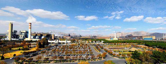 تولیدات ذوب آهن اصفهان 23 درصد افزایش یافت