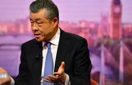 سفیر چین در انگلیس این کشور را متهم به تفکر جنگ طلبانه کرد