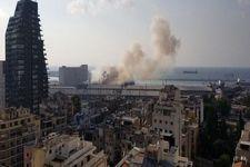 زخمی شدن دهها نفر در انفجار بیروت